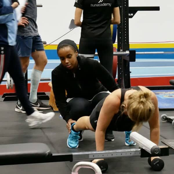 Praktik i gymmet på Bosön